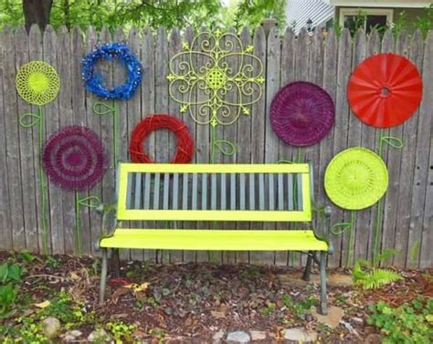 backyard decor top 23 surprising diy ideas to decorate your garden fence