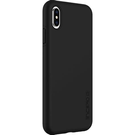 incipio dualpro for iphone xs max black iph 1757 blk b h