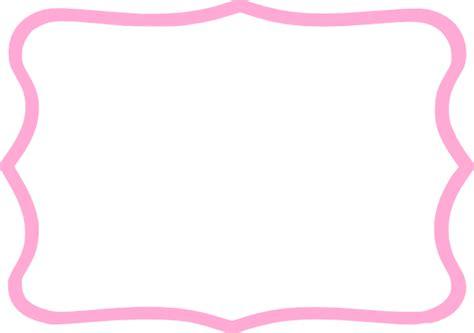 frame clipart light pink frame clip at clker vector clip