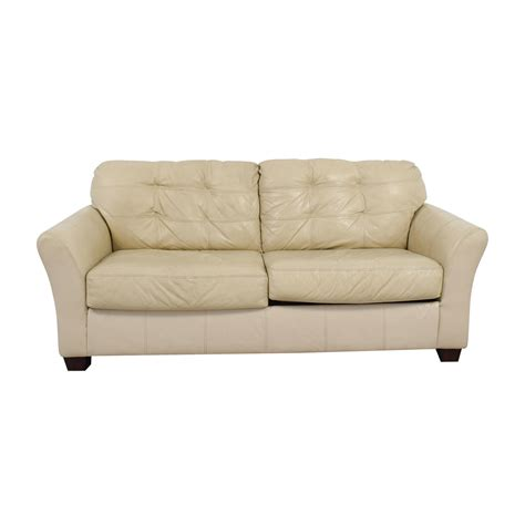 cream leather sofa bed cheap cream leather sofa bed www energywarden net