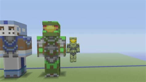 How To Build A Master Minecraft Xbox 360 Edition How To Build Master Chief Part