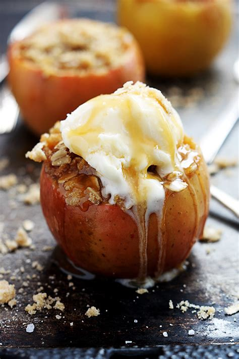 baked stuffed apples recipe dishmaps