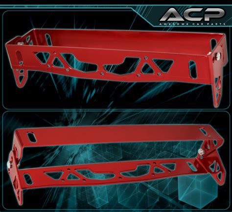Jeep License Plate Relocation Bracket Angle Front Bumper License Plate Relocation Bracket