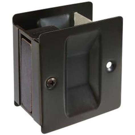 Pocket Door Home Depot by National Hardware Antique Bronze Pocket Door Pull V1950