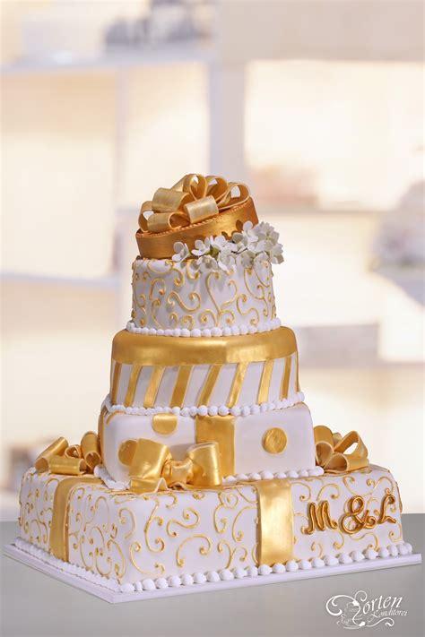Hochzeitstorte Gold by Hochzeitstorten Klassisch Hochzeitstorten Schlidt De