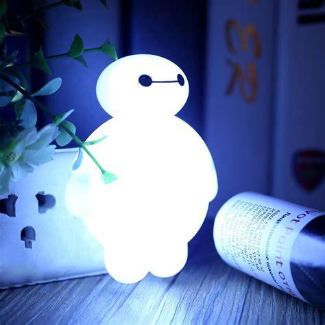 bedroom with night light baymax sensor led night light bedroom energy saving cute