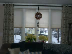 Window Coverings For Bow Windows bow window treatments