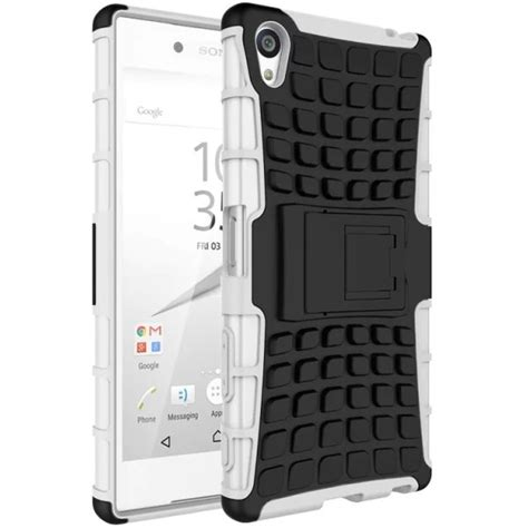 Rugged Armor Sony Xperia Z5 Z5 Plus Premium Dual Casing Cover Hp 1 rugged tough armour for sony xperia z5 premium white