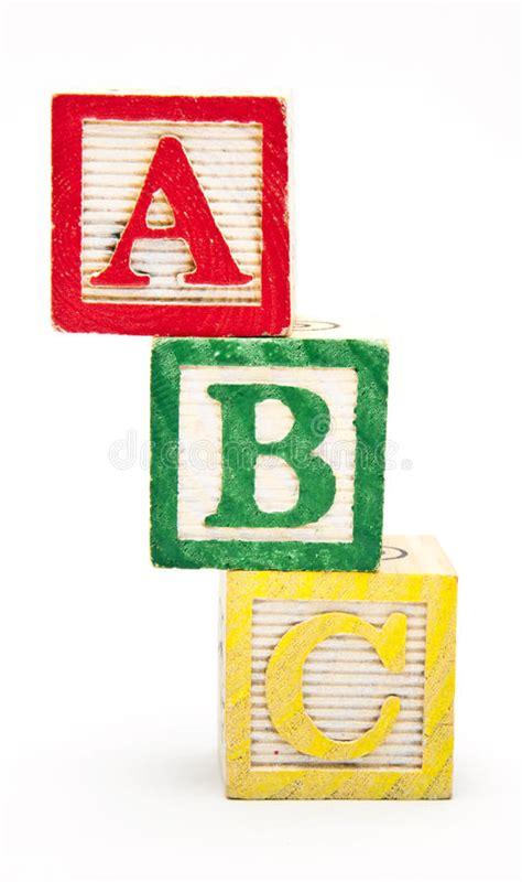 abc blocks stacked stock image image  alphabet