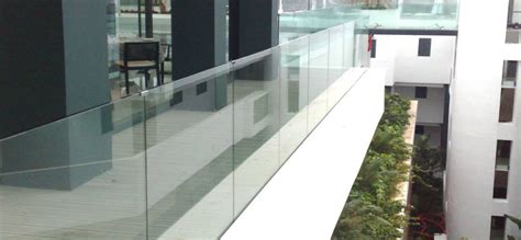 barandillas de terraza barandillas de cristal a medida para escaleras
