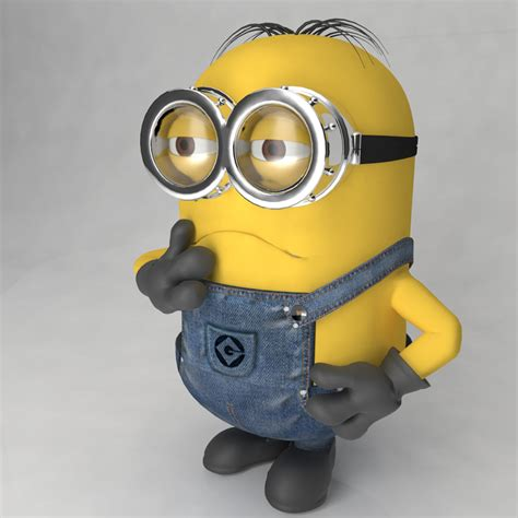 Minion Desk Accessories Minion 3d Model Free Bliblinews