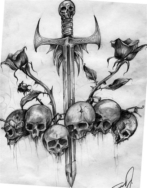 customize tattoos for free skull sword tattoo http www