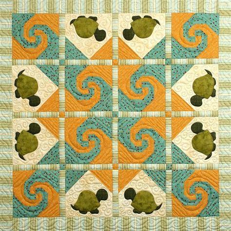 Turtle Quilt Patterns by Turtle Trail Quilt Pattern