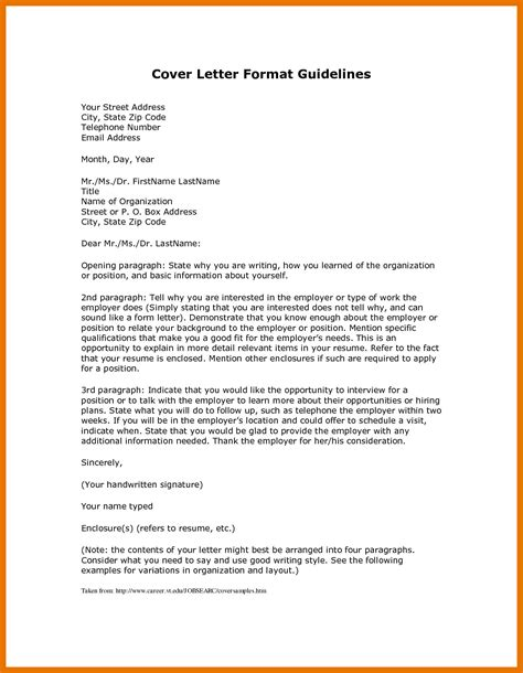 layout of cover letter for application 5 6 layout of a cover letter formsresume