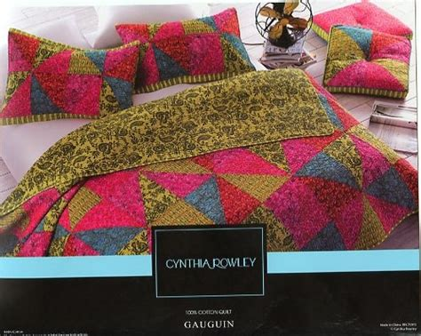 Cynthia Rowley Quilt by Cynthia Rowley Gauguin 3 Pc Quilt Set Nip Ebay