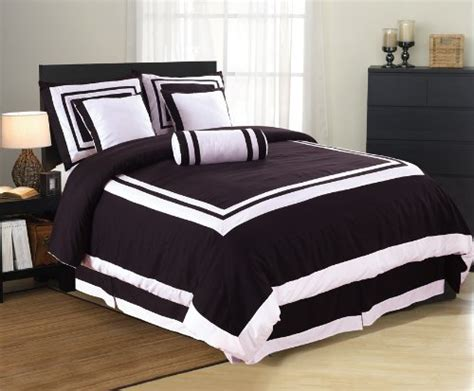 black and white king size comforter sets 7 pieces caprice black and white hotel comforter bed in a