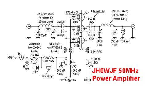 Power Lifier Pa hf lifier schematic hf get free image about wiring