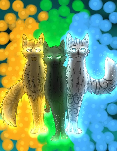 Power Of Three warrior cats power of three by lovelysheepx3 on deviantart