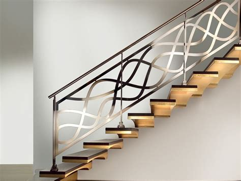 steel banister trends of stair railing ideas and materials interior