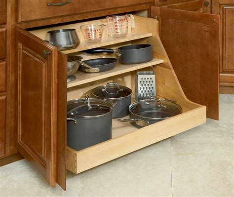 kitchen cabinet storage bins pot and pan organizer buying guide homestylediary com