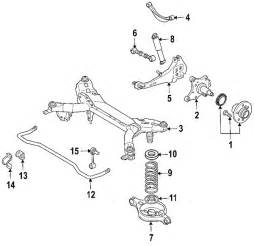 parts 174 mazda 6 suspension components oem parts