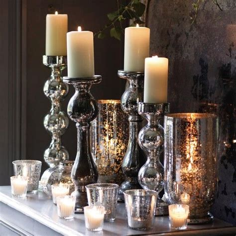 winter decor hit stylish silver accessories digsdigs