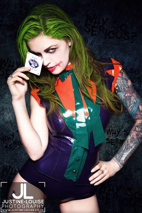 Mario Wall Mural female joker cosplay