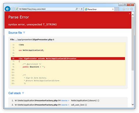 zend framework 2 error layout github adlogix webinodebug more than just user friendly