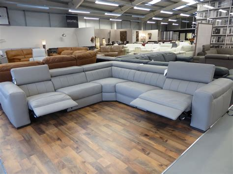 gray sectional sofa with recliner natuzzi editions club b790 leather power reclining sofa