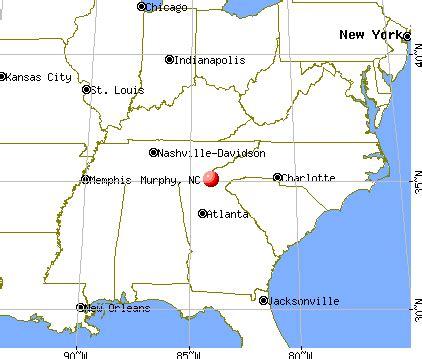 map of carolina murphy map of murphy carolina my