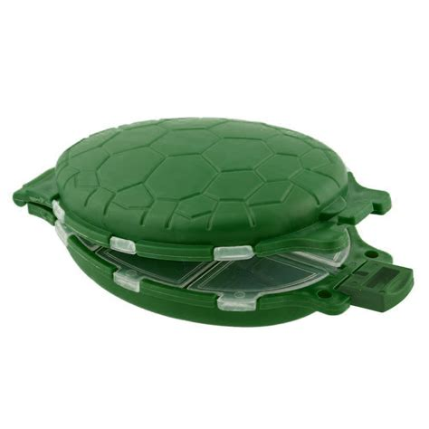 Turtle Fishing Lure 12 compartments turtle fishing lure hooks tackle tool