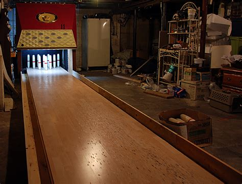 bowling alley in basement it s basement photo friday a strike or a spare rescon basement solutions nh and ma