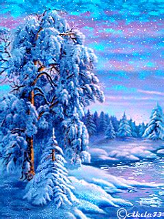 beautiful nature animated gifs beautiful nature nature christmas gif
