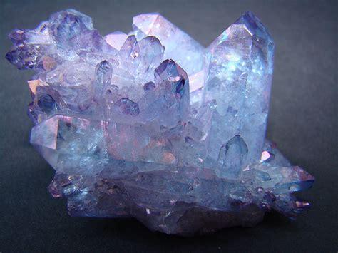 aura crystals tanzan aura quartz aka indigo aura quartz