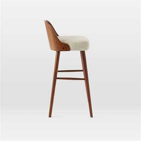 bent wood bar stool bentwood bar counter stool west elm