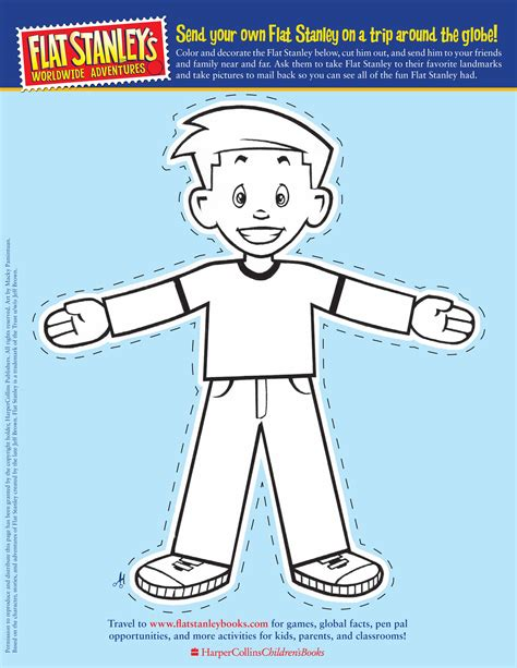 flat stanley book report flat stanley cut out template front hey that s me