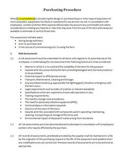 purchasing procedure template pictures to pin on pinterest