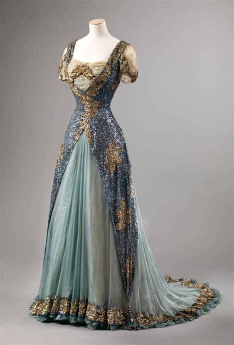 design victorian dress evening dress 1905 10 from the nasjonalmuseet for kunst