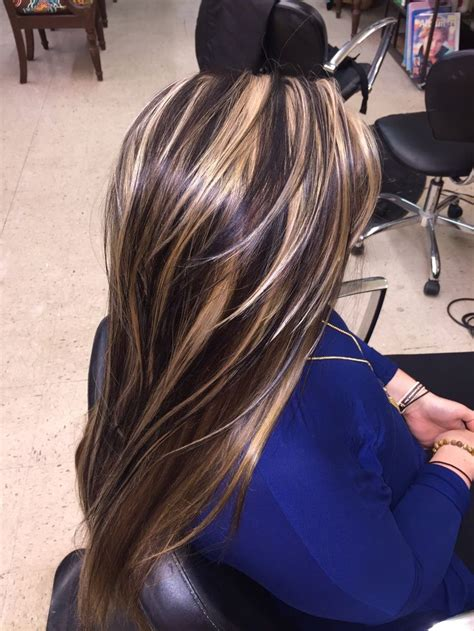 black and silver low lights 17 best ideas about chunky highlights on pinterest