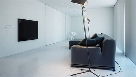 modern minimalist design a super minimalist modern apartment in white