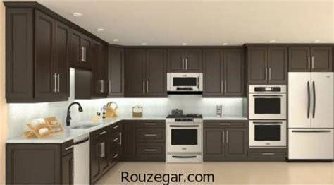 models of kitchen cabinets گالری جدیدترین مدل کابینت چوبی برای آشپزخانه های لوکس