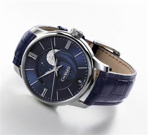 Loiste Ii Self Winding Cog With Moon Phase by Christopher Ward C9 Moonphase Time And Watches The