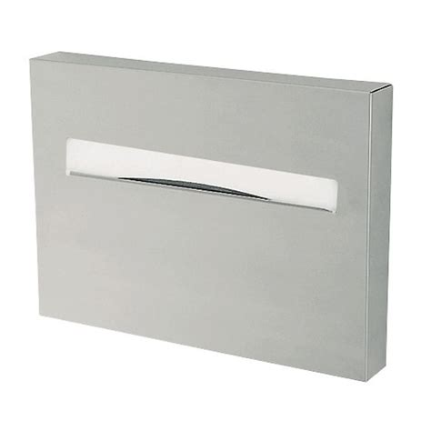 seat cover dispenser seat cover dispenser in silver tscs the home depot