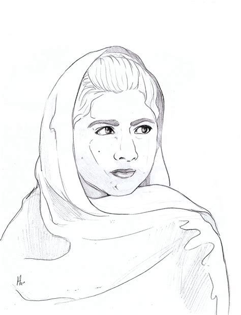 I M Drawing A by Sisson Malala Yousafzai
