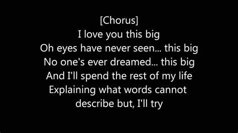 i you lyrics scotty mccreery i you this big lyrics