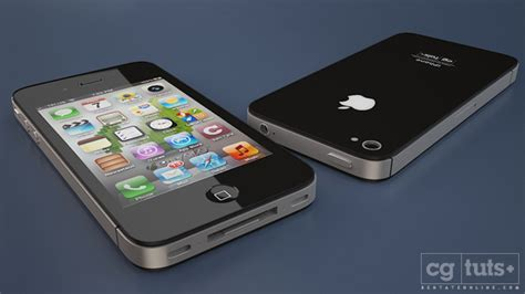 creating the iphone 4s in 3d studio max part 5