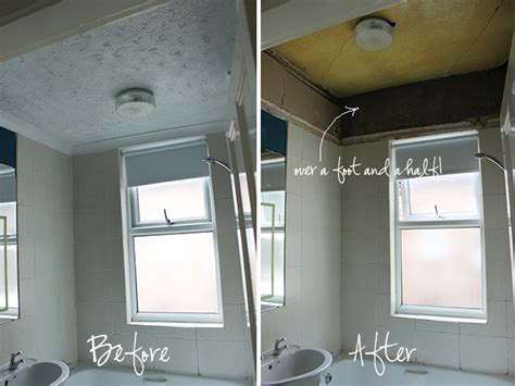 raised ceiling frame remodel me please pinterest operation bathroom remodel ripping down the false ceiling