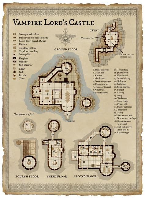 Medieval Manor House Floor Plan by Http Www Wizards Com Dnd Images Hoh Mw 02 Heroeshorror
