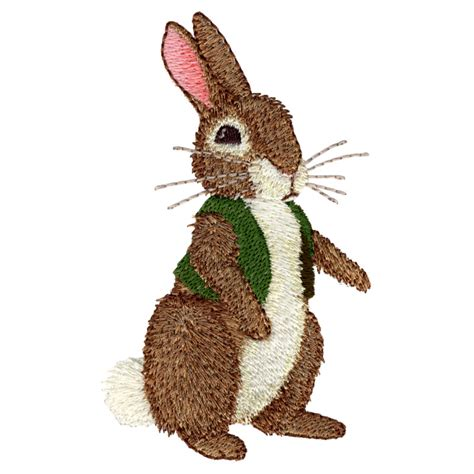 Embroidery Design Rabbit | bunny freeembroiderydesigns com