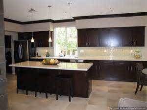 kitchens with espresso cabinets new house pinterest - espresso cabinets transitional kitchen sabal homes sc
